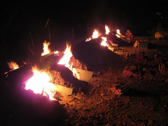 野焼き風景1