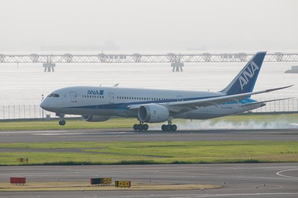 Boeing787(N787EX),787日本発飛来